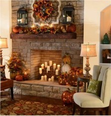 Beautiful fireplace decorating ideas to copy for your own 22