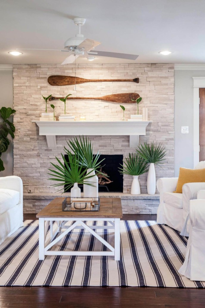 Beautiful fireplace decorating ideas to copy for your own 44