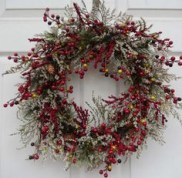 On a budget diy christmas wreath to deck out your door 13