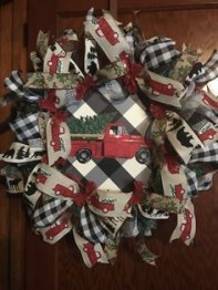 On a budget diy christmas wreath to deck out your door 19