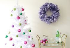 On a budget diy christmas wreath to deck out your door 26