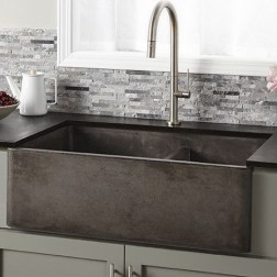 Top farmhouse sink designs for your lovable kitchen 02