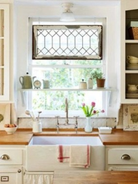 Top farmhouse sink designs for your lovable kitchen 08