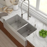 Top farmhouse sink designs for your lovable kitchen 13