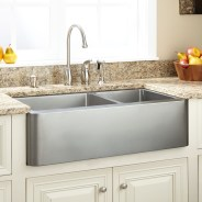 Top farmhouse sink designs for your lovable kitchen 20