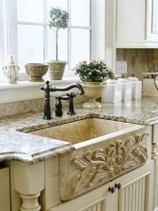 Top farmhouse sink designs for your lovable kitchen 26