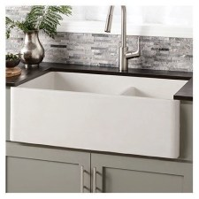 Top farmhouse sink designs for your lovable kitchen 29