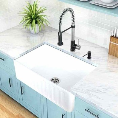 Top farmhouse sink designs for your lovable kitchen 39
