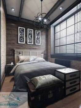 Awesome rustic bedroom furniture ideas to get the farmhouse charm 21