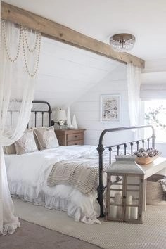 Awesome rustic bedroom furniture ideas to get the farmhouse charm 30