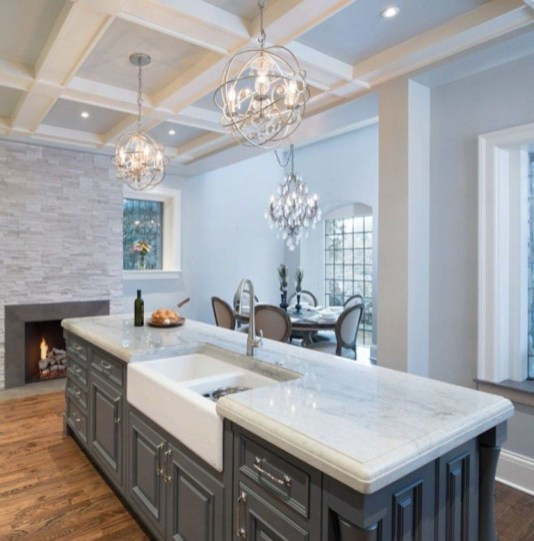 Awesome yet functional kitchen island design ideas 22