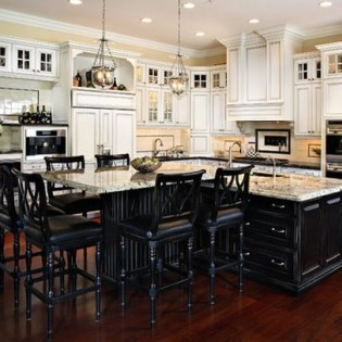 Awesome yet functional kitchen island design ideas 24