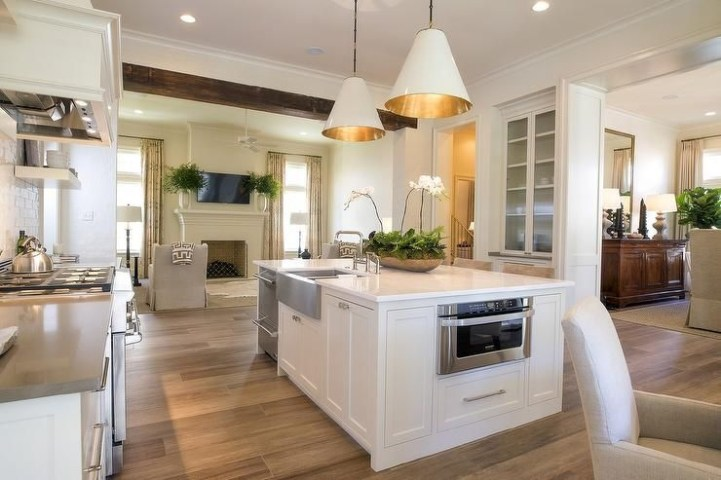 Awesome yet functional kitchen island design ideas 32