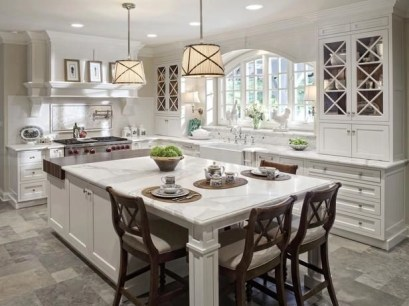 Awesome yet functional kitchen island design ideas 40