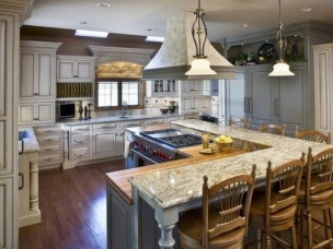 Awesome yet functional kitchen island design ideas 51