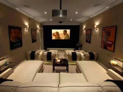 Basement home theater design ideas to enjoy your movie time with family and friends 01