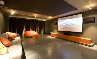 Basement home theater design ideas to enjoy your movie time with family and friends 14