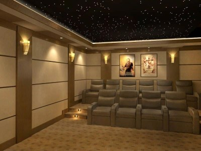 Basement home theater design ideas to enjoy your movie time with family and friends 16