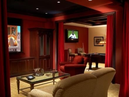 Basement home theater design ideas to enjoy your movie time with family and friends 19