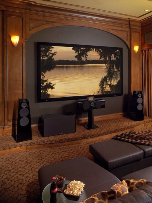 Basement home theater design ideas to enjoy your movie time with family and friends 21