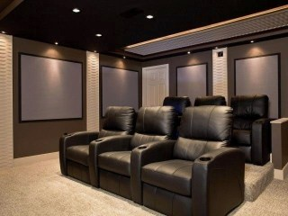 Basement home theater design ideas to enjoy your movie time with family and friends 26