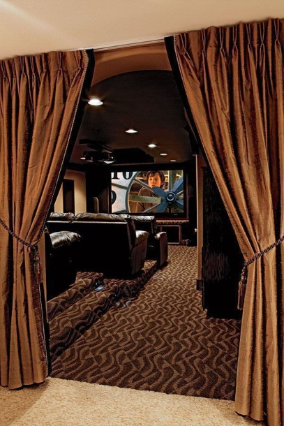 Basement home theater design ideas to enjoy your movie time with family and friends 28