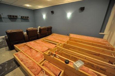 Basement home theater design ideas to enjoy your movie time with family and friends 31