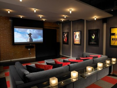Basement home theater design ideas to enjoy your movie time with family and friends 34