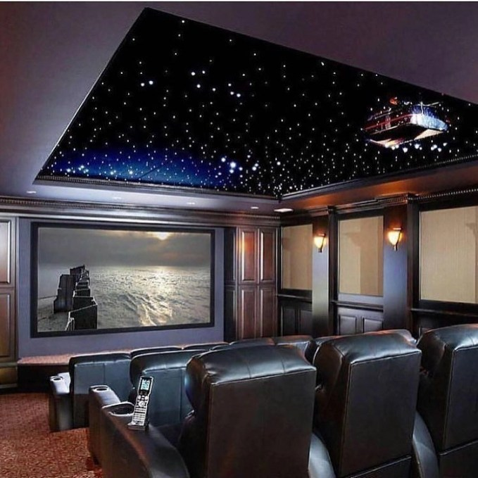 Home Theater Design Ideas Diy: 50 Basement Home Theater Design Ideas To Enjoy Your Movie