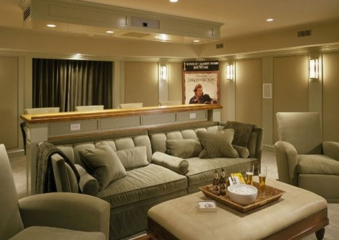 Basement home theater design ideas to enjoy your movie time with family and friends 43