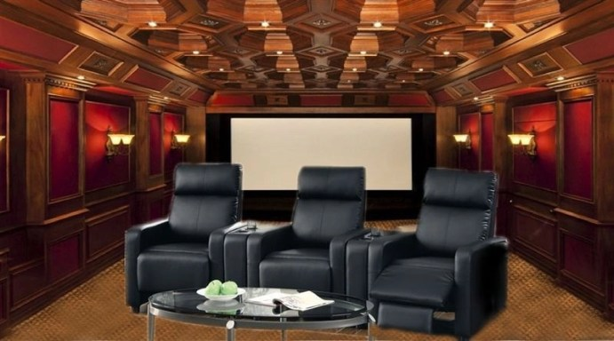 Basement home theater design ideas to enjoy your movie time with family and friends 46