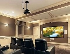 Basement home theater design ideas to enjoy your movie time with family and friends 47