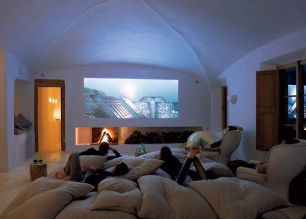 Basement home theater design ideas to enjoy your movie time with family and friends 50