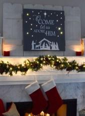 Beautiful diy christmas light decoration ideas 14