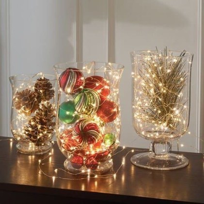 Beautiful diy christmas light decoration ideas 18