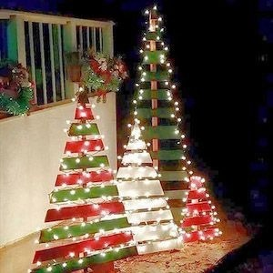 Beautiful diy christmas light decoration ideas 21