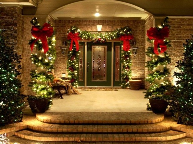 Beautiful diy christmas light decoration ideas 24
