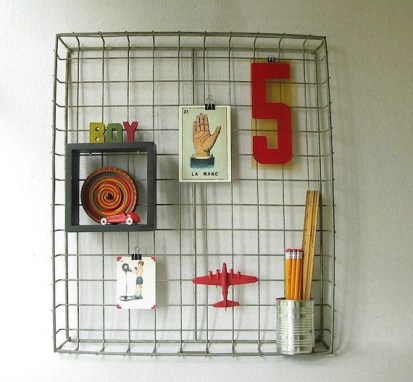 Best diy decor ideas for your home using wire wall grid 48