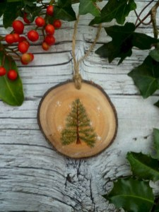 Creative diy rustic christmas decorations with wood 14