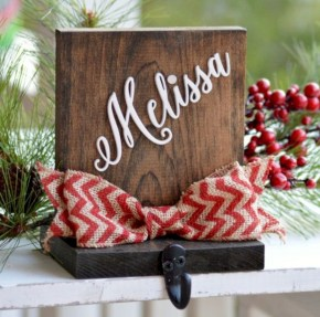 Creative diy rustic christmas decorations with wood 20