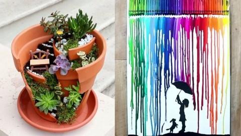 Creative diy fairy garden ideas to try 25