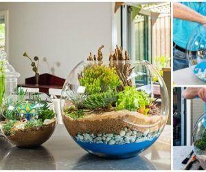 Creative diy fairy garden ideas to try 35