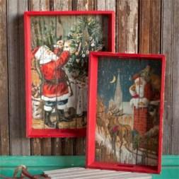 Creative diy farmhouse ornaments for christmas 22