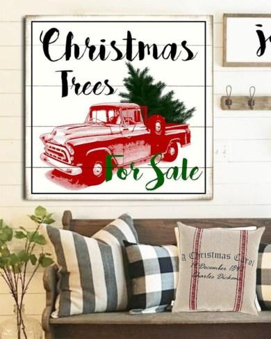 Creative diy farmhouse ornaments for christmas 27