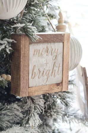 Creative diy farmhouse ornaments for christmas 52