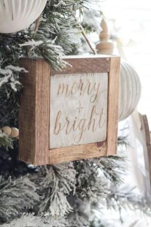 Creative diy farmhouse ornaments for christmas 52