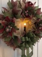 Diy christmas wreath ideas to decorate your holiday season 01