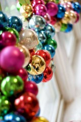 Diy holiday projects using dollar store ornaments 35