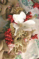 Diy holiday projects using dollar store ornaments 36