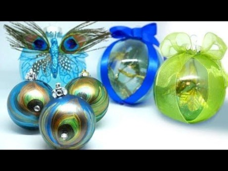 Diy holiday projects using dollar store ornaments 39